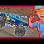 Monster Truck Song – Educational videos for preschoolers – Blippi
