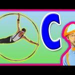 Learn the Alphabet for Toddlers – The Letter C Preschool Activity – Cyr Wheel