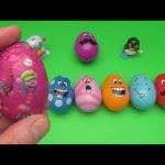 Trolls Surprise Egg Learn-A-Word! Spelling Ocean Creatures!  Lesson 5