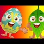 Learn GREEN Colour with Funny Egg Surprise & GREEN Song | ChuChuTV Surprise Eggs Colors for Kids