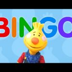 BINGO | Sing Along With Tobee | BINGO Dog Song | Kids Songs