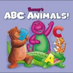 Barney's ABC Animals [Read Along] [Cassette]