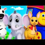 Animal Sounds | Learning Street With Bob | Song For Toddlers | Kindergarten Video For Childrens