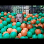 Indoor Playgrounds fun for kids. Video compilation.
