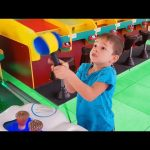 Indoor playground fun for kids and family. Video from KIDS TOYS CHANNEL 2017