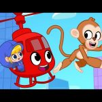 Morphle's Happy Birthday Party with Monkeys! My Magic Pet Morphle cartoons for kids