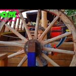 Family fun play area for kids. Outdoor playground. Video from KIDS TOYS CHANNEL
