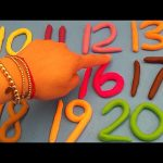 The Baby Big Mouth Show! Best of Learn To Count with PLAY-DOH Numbers! 1 to 20!