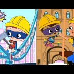 London Bridge Is Falling Down | Bottle Squad Cartoons | Nursery Rhymes For Kids