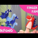 T-Rex Finger Family | Finger Puppets | Pinkfong Plush | Pinkfong Songs for Children