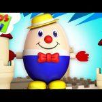Humpty Dumpty Sat On A Wall   Nursery Rhymes   Kids Songs For Children   Baby Rhyme