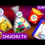 Kids Learn New Gift Objects with Egg Finger Family Song – ChuChu TV Surprise Eggs Learning Videos