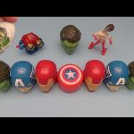 Marvel Avengers Surprise Egg Learn-a-Word! Spelling Cambrian Life!  Lesson 3
