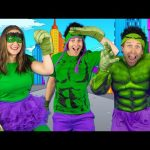 Kids Superhero Song  – Let's Be Superheroes | Action Songs for Kids – Bounce Patrol