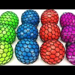 Learn Colors Squishy Balls Fun For Kids M&M Chocolate Candy Surprise Toys Kinder Surprise Minions