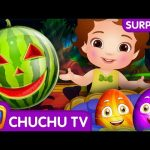 ChuChu TV Surprise Eggs Toys – Learn Fruits with Watermelon Song – Learn Colours and Objects!