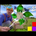 Learn Colors for Toddlers with Blippi   COLOR BOXES