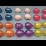 Learn Patterns with Surprise Eggs!  Opening Surprise Eggs filled with Toys! Lesson 33