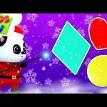 Learn Shapes With Bao Panda | Christmas Songs and Kids Shows – Kids Tv