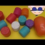 Learn to Spell with Rockin' Baby Big Mouth Surprise Eggs!  Spelling Famous Landmarks!  Lesson 3
