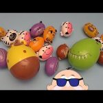 Learn to Spell with Rockin' Baby Big Mouth Surprise Eggs!  Spelling Famous Landmarks!  Lesson 4