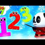 Learning Numbers With Bao Panda | Christmas Songs For Children – Kids Tv