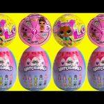 LOL Surprise Confetti Pop Dolls Gets Hatchimals Surprise Eggs