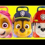 Paw Patrol Chase, Skye, Marshall Surprise Tins