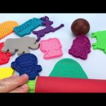 Play Dough and Cookie Cutters Molds