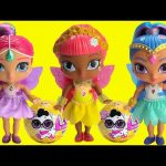 Shimmer and Shine Flower Sprites Gets LOL Surprise Pets Toy Video