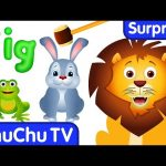 Learn Sizes & Wild Animals for Kids | ChuChu TV Surprise Eggs
