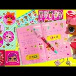 LOL Surprise Secret Diary Confetti Pop and Pet Surprises Toy Video