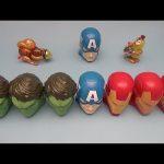 Marvel Avengers Surprise Egg Learn-a-Word! Spelling Trains!  Lesson 6