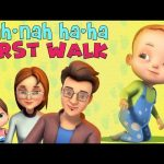 Nah Nah Ha Ha – First Walk | Baby Ronnie Nursery Rhymes & Kids Songs | Videogyan 3D Rhymes