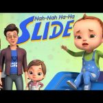 Nah Nah Ha Ha – Slide Song | Baby Ronnie Rhymes | Nursery Rhymes & Kids Songs | 3D Rhymes