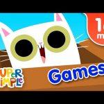 Our Favorite Games Songs | Kids Songs | Super Simple Songs