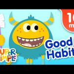 Our Favorite Kids Songs About Good Habits | Super Simple Songs