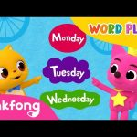 Seven Days | Word Play | 3D Nursery Rhyme | Pinkfong Songs for Children