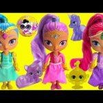 Shimmer and Shine Sparkle Genie Afina and Glittercorn Gleam Unicorn
