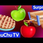 Surprise Eggs Nursery Rhymes Toys | Learn Fruits for Kids – Apple | ChuChu TV Egg Surprise