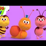 A Snail | Nursery Rhymes & Children Songs | Cartoon Videos by Kids TV kids tv