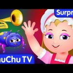 ChuChu TV Surprise Eggs Nursery Rhymes Toys | Little Miss Muffet | Learn Colours & Objects