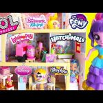 GIANT Doll House Full of Surprises LOL Surprise Toy Video