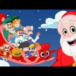 Merry Christmas Songs For Kids With Animation – My Magic Pet Morphle