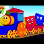 Preschool Learning Videos | Bob The Train | Cartoon Videos  For Children – Kids TV