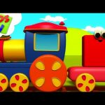 Shapes Train | Bob The Train | Learning Videos For Babies | Cartoon Shows – Kids TV