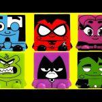 Teen Titans Go! Kawaii Cubes Nesterz