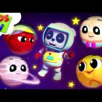 The Planets Song | Solar System | Baby Bao Panda Cartoons | Nursery Rhymes by Kids TV