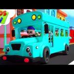 The Wheels on the Bus | Baby Bao Panda | Nursery Rhymes & Songs for Children – Kids TV
