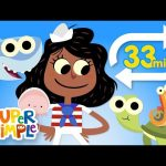 A Sailor Went to Sea (Extended Mix – 33 Mins!) | Kids Songs | Super Simple Songs